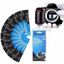 10PCS APS-C CCD/CMOS Sensor Cleaning Swab Kit For DSLR Lens Digital Camera SLR