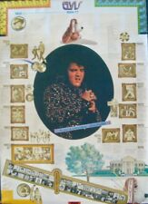 ELVIS PRESLEY Japanese B1 movie poster Discography 1977 RARE