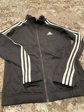 Juniors Adidas Black Jacket Size 12-14