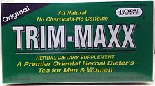 TRIM-MAXX All Natural Original Herbal Dietary Supplement Tea - 30 tea bags