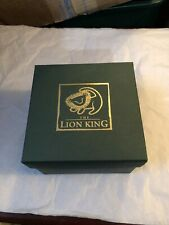 """Lenox Produced For Disney """"The Lion King Crystal Bowl"""""""