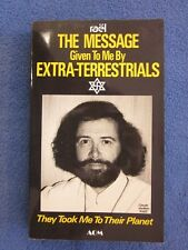 THE MESSAGE GIVEN TO ME BY EXTRA-TERRESTRIALS by rael  NEW SOFTCOVER..RARE!!