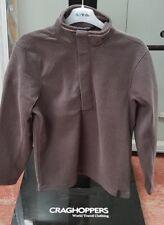Craghoppers Mens Weston Button Fleece Top Outdoor Jumper - Grey