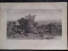 Noon On The Sea Shore By J F Kensett Appletons' Journal 1869