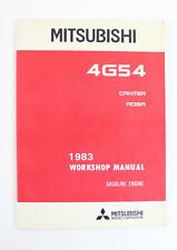 Mitsubishi Canter/Rosa 4G54 1983 workshop manual as new