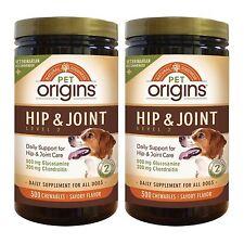 Pet Origins Hip & Joint Level 2 Chewable Tablets 300-count 2-pack