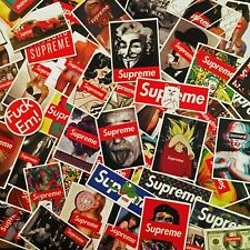 matte supreme stickers - skate sickers - supreme bogo