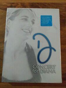 CONCERT FOR DIANA - sealed/new - UK DVD (2-DISC BOX SET) - 340 mins - Elton John