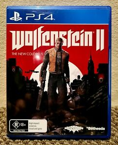 WOLFENSTEIN II: THE NEW COLOSSUS • SHOOTER • PLAYSTATION 4 (PS4) • BRAND NEW