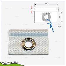 Keder aus weißem Kunstleder  dm ca 10 mtr EUR 3,90 // m 4 mm
