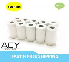 "Acypaper, 2 1/4"" x 50' Thermal Paper, (500 Rolls), Free Two Day Shipping"