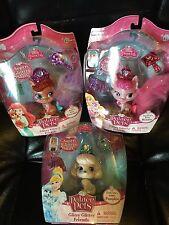 Lot Of 3 Disney Palace Pets Glitzy Glitter Friends Pumpkin Beauty & Treasure NIB