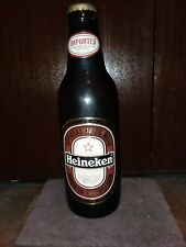 "Heineken Dark Beer Display Bottle 24"" high"