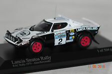 Lancia Stratos RAC Rally 1979 #2 1 of 504 1:43 Minichamps neu & OVP 430791202