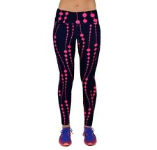 Ladies Spandex Fitness Running Jogging Cycling Exercise Leggings Fashion Gift L