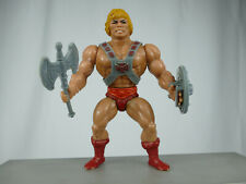 8682 MOTU HE-MAN 1981 TAIWAN SOFT HEAD MASTERS OF THE UNIVERSE COMPLETE