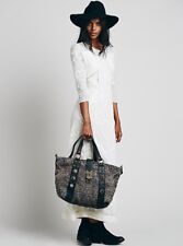 Free People Heartbreaker Jute Tote with Stone Embellishments Retails $170.00 #2