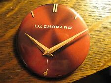 Louis Ulysse L.U. Chopard Red Wrist Watch Advertisement Pocket Lipstick Mirror
