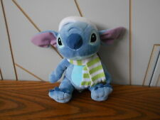 CHRISTMAS STITCH character beanie soft toy DISNEY STORE Lilo & Green hat/scarf
