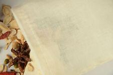 LARGE 12x16 inch Natural Cotton Muslin Drawstring Bags 10 PC