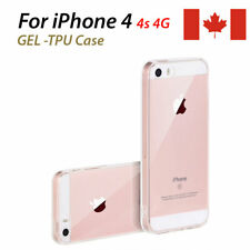 Gel TPU Flexible Case for iPhone 4 4s iPhone clear gel protective case