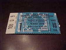 1988 NCAA Basketball Southeast Regional Championship Ticket Kentucky Wildcats