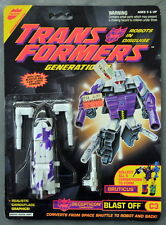 Factory Sealed 1993 Transformers Generation 2 Decepticon Blast Off MOSC