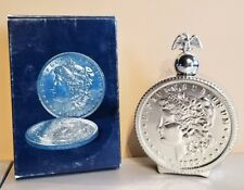 Liberty Dollar Oland After Shave Decanter By Avon In Original Box Full Bottle