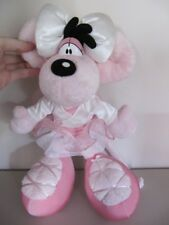 Diddl - Peluche Diddlina danseuse ballerine rose - 30 / 35 cm environ