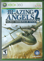 Blazing Angels 2: Secret Missions of WWII (Xbox 360, 2007) (Complete w Manual)