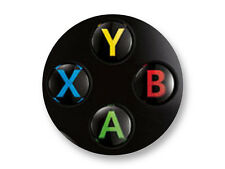 "Pin Button Badge Ø25mm 1"" Manette Pad Controller Joystick Retro Game Xbox"