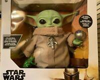 Mattel Baby Yoda Star Wars The Mandalorian The Child Plush w/Accessories NEW FS!