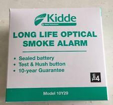 Kidde 10-year Optical Smoke Alarm  -  10Y29 Brand New - Boxed -