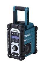 Tragbare Baustellenradios mit Wecker