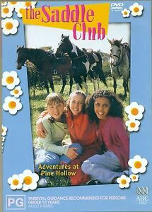 The Saddle Club DVD - ADVENTURES AT PINE HOLLOW | Region 4