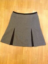 NEXT WOMENS TAILORING GREY KICK FLARE SKIRT UK SIZE 8(MORE LIKE 10) BARELY WORN