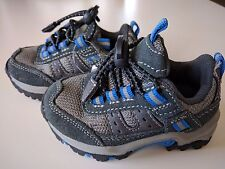 The Children's Place Toddler Boys Kids Sport Shoes Size 4 Athletic Gray Blue New