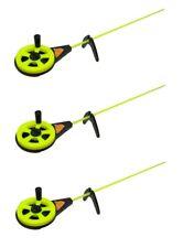 new 3 pcs Ice Winter Fishing rods rod marmooska US-3 yellow Rod 24 gr Russia