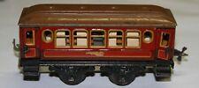 Karl Bub KB Spur 0 ein zweiachsiger Schlafwagen mit 4 zu öffnenden Türen