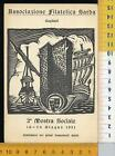 44613] CAGLIARI - ASSOCIAZIONE FILATELICA SARDA - 2° MOSTRA SOCIALE 1951