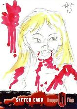 Hammer Horror Series 2 Sketch Card drawn by Amy Pronovost /2