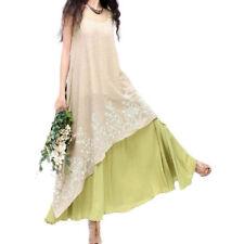 Unbranded Lace Linen Dresses for Women