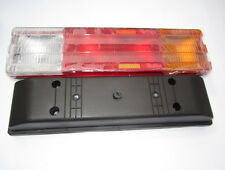 Pair Rear Lights Mercedes Truck Tail Van Pick up Lorry Chassis Lamps Trailer