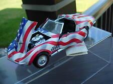 New ListingFranklin Mint 1/24th Scale 1969 Corvette-`Stars & Stripes`-Very Nice-