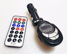 In Auto Senza Fili FM Radio Trasmettitore Audio Bluetooth Lettore MP3 USB Remoto AC73