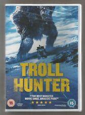 TROLL HUNTER - UK REGION 2 DVD - sealed/new