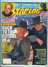 Starlog No.155 ALIEN NATION,M IRONSIDE,BACK TO THE FUTURE 3