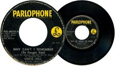 Philippines VINCE HILL Why Can't I Remember 45 rpm Record