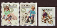 NEW ZEALAND 2013 CHILDRENS HEALTH SET OF 3 FINE USED