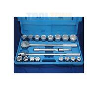 21 pièces métrique 1.9cm MOTEUR Clé à douille Extension Set Boîte de rangement